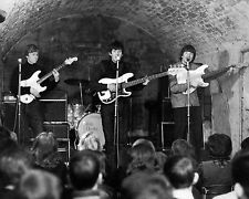 """Pete clarke at the cavern club 10"""" x 8"""" Photograph"""