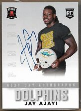 2015 Panini Rookie Premiere Next Day Autographs Jay Ajayi On Card Auto Rc