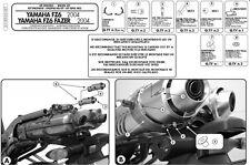 STAFFE 351KIT GIVI / KAPPA per TELAIETTI TE351K KAPPA e TE351 GIVI FZ6-S2-FAZER