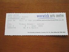 BETH ORTON - BUTTERWORTH HALL WARWICK ARTS CENTRE 17.2.2006 USED CONCERT TICKET