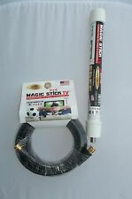 TV Antenna MAGIC STICK FREE INDOORS/OUTDOORS FREE HD  20 Ft Cable Camping RV'S
