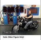 """American Diorama Biker Figure """"Ace"""" 1:18 Scale"""