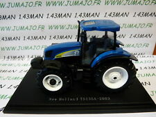 Tracteur 1/43 universal Hobbies n° 152 : NEW HOLLAND TS135A 2003