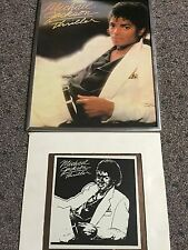 Michael Jackson Thriller Framed Picture and Mirror Collection Vintage