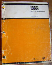 CASE 580C CK Construction King Loader Backhoe Parts Catalog C1283       Lot #134