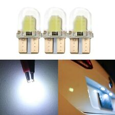 10PCS T10 194 168 W5W COB 8SMD LED CANBUS Silica Bright White License Light Bulb