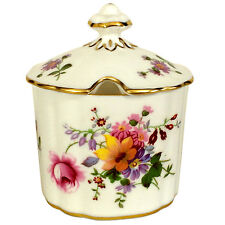 Royal Crown Derby - Derby Posies - Covered Lidded Preserve/Jam Pot - 1st Quality