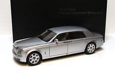 1:18 Kyosho Rolls Royce Phantom EWB silver 08841S NEW bei PREMIUM-MODELCARS
