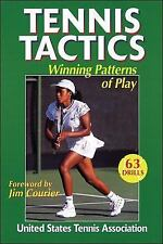 Tennis Tactics : Winning Patterns of Play by United States Tennis Association...