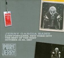 PURE JERRY GARCIA: LUNT-FONTANNE,NYC:THE BEST OF THE REST-OCTOBER 15-30,1987