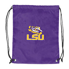 NEW! LSU Tigers Bayou Bengals Football String Backpack Bag School Sports Sport