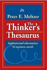 The Thinker's Thesaurus: Sophisticated Alternatives to Common Words-ExLibrary