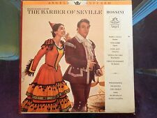 MARIA CALLAS - ROSSINI: Barber of Seville - Angel Records STEREO LP #S.35936