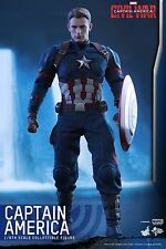 Hot Toys - Captain America - Civil War - Sideshow - In Stock - Lieferbar