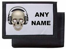 Personalised Skull/Headphones Wallet/Purse *Pink/Blue/Black/Red* Mayzie Designs®
