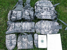 New MOLLE II ACU Rifleman Army Set Assault Pack FLC Hydration System Waist Pack