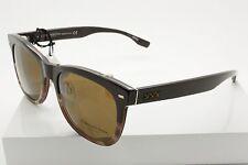 Ermenegildo Zegna ZC 0001 50M Dark Brown Polarized Sunglasses Size 55-19-145 mm