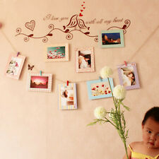 Stylish 8Pcs 6Inch Home Decor DIY Wall Paper Photo Frame Wall Picture Album