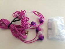 Lot of 2 Sony MDR-EX15AP Earbuds w/mic MDREX15AP - Pink - New Open Box