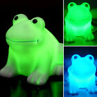 Magic LED Night Light Frog Shape Colorful Changing Lamp Room Bar Decoration