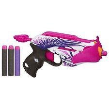 Brand New NERF Rebelle PINK CRUSH Dart BLASTER 2 in 1 Mini Crossbow