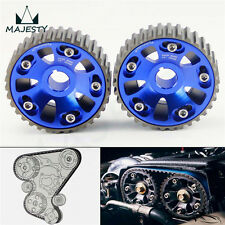 Racing Cam Gear Pulley For Civic DOHC B16A B16B B18B B18C Integra DC2 Acura Blue