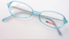 Brille Damengestell Brillenfassung Mädchenbrille blau kleine Glasform Inlook M
