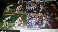 1994 Ted Williams Mike Schmidt Uncut Sheet #MS1-MS5, 2 of each 10 cards