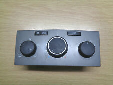 VAUXHALL ASTRA H MK5 HEATER CONTROL SWITCH PANEL 13201300