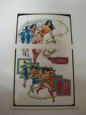 Windproof  Fliptop Lighter  -Sticker - Decal ONLY  [ -Wonder Woman- ]