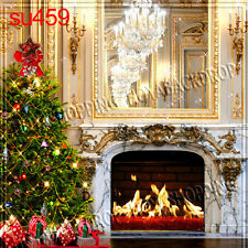 Christmas 10'x10' Computer-painted Indoor Scenic background backdrop SU459B881
