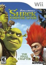 NEW Shrek Forever After Nintendo Wii Game FREE SHIPPING dreamworks fiona donkey