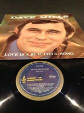 """APLP 002 DAVE MILLS LOVE IS A BEAUTIFUL SONG  LP ALBERT PRODUCTIONS 12"""" RECORD"""