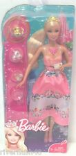 BARBIE PRINCESS INCLUDING TEA PARTY SET AND ACCESSORIES AGES 3+ BLONDE  HAIR