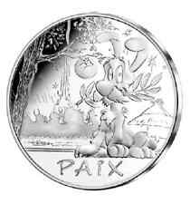 FRANCE Astérix 50 Euro Argent Valeurs de la République 2015 Idéfix - Silver coin