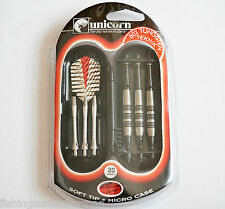 UNICORN TEKNIK RINGED 20g SOFT TIP 80% DARTS SET