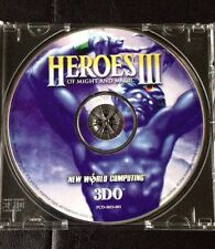 HEROES OF MIGHT AND MAGIC III 3 3DO. Collectors