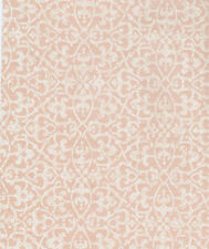 York Raised Packed Trellis Wallpaper Cream on Light Rose HD6909  per Double Roll