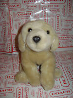 "Animal Alley 11"" Soft Coat Golden Retriever Lab Labrador Puppy Dog Plush Pup Toy"