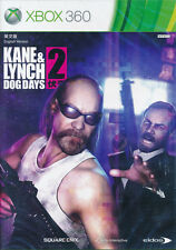 Kane & and Lynch 2 Dog Days XBOX 360 GAME BRAND NEW & SEALED