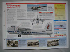 Aircraft of the World Card 53 , Group 2 - Bristol 170 Freighter