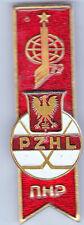 1986 Soviet Union HOCKEY Participating Nations Pin (POLAND)