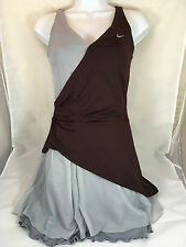 Nike DriFit Tennis Dress Size Small in Maroon and Gray