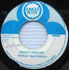 WEBBER SOUL SISTERS sweet dreams / why can't I touch you REGGAE DUB 45 C222