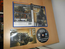 SAS ANTI-TERROR FORCE *PlayStation 2 PS2*  FREE UK POST