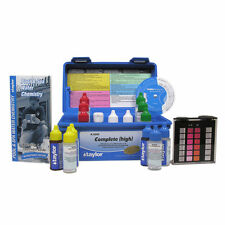 Taylor K-2005 Complete Deluxe DPD Chlorine/Bromine Pool Test Kit, High Range New