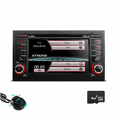 "for Audi A4 S4 RS4 Car Stereo 2 DIN Radio DVD 7"" GPS NAV System Audio 360°Camera"