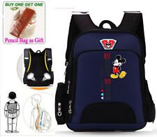 Cool Style Disney Mickey School Bag for Grades 1-3 Student Kid Backpack Rucksack