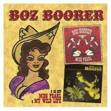 Boz Boorer Miss Pearl/My Wild Life 2-CD NEW SEALED Rockabilly