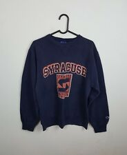 VTG MENS BLUE USA CHAMPION ATHLETIC SPORTS OVERHEAD SWEATSHIRT JUMPER VGC UK M/L